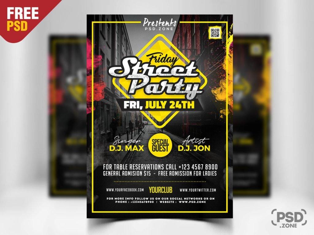 Street Party Flyer