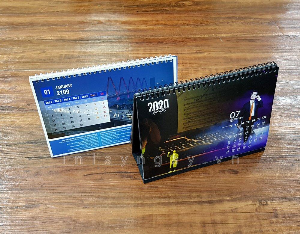 Mẫu lịch được thiết kế và in tại xưởng In Lấy Ngay - Công ty in Đức Thành