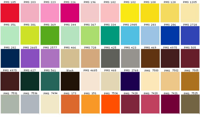 Các màu trong photoshop