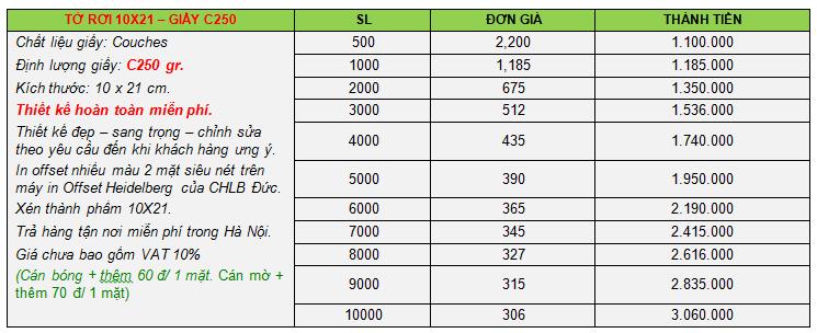 báo giá dịch vụ in ấn 2015, in tờ rơi 10x21-5