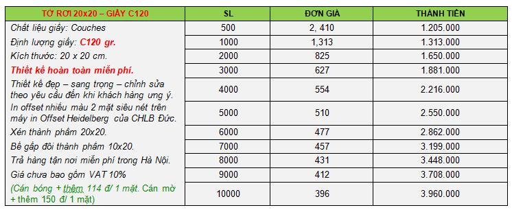 báo giá dịch vụ in ấn 2015, in tờ rơi 20x20-2