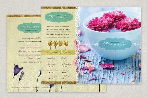 thiết kế, in brochure
