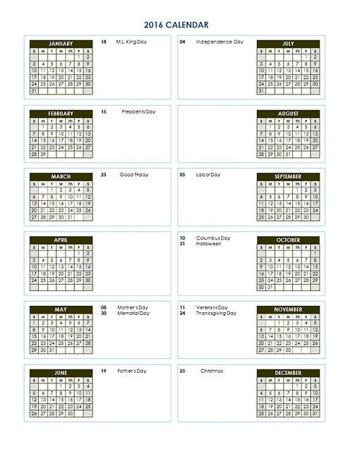 mẫu lịch 2016 file word-10