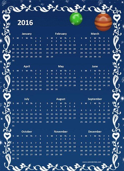 mẫu lịch 2016 file word-14