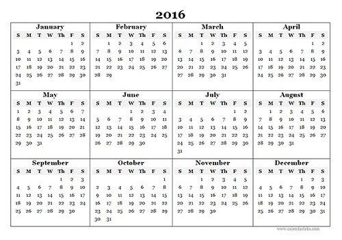 mẫu lịch 2016 file word-3