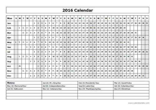 mẫu lịch 2016 file word-8