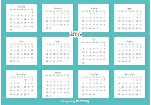 mẫu lịch 1 tờ 2016-15