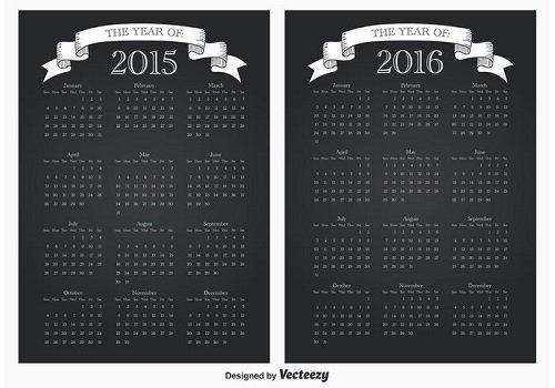 mẫu lịch 1 tờ 2016-18
