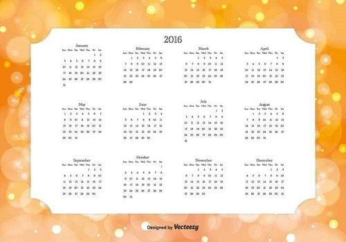 mẫu lịch 2016-25