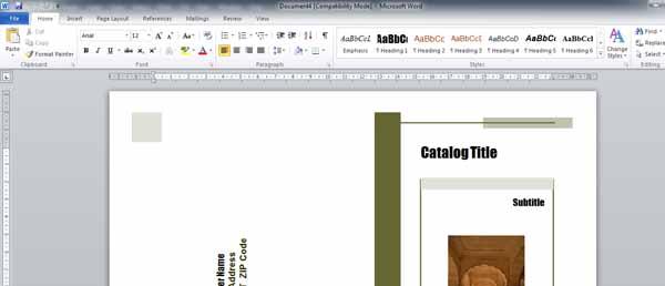 hướng dẫn tự thiết kế catalogue bằng Word-4