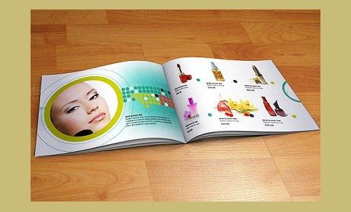 mẫu catalogue ấn tượng