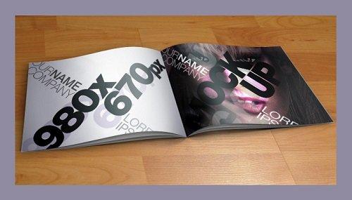 mẫu catalogue PSD miễn phí