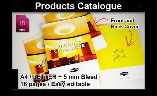 mẫu catalogue PSD đẹp