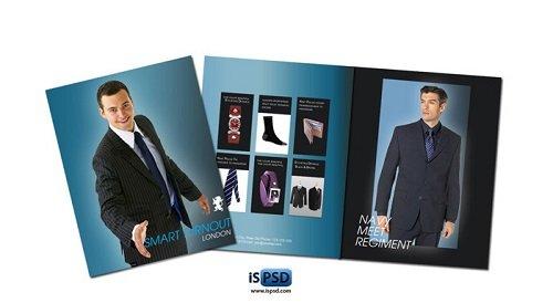 mẫu catalogue PSD sáng tạo