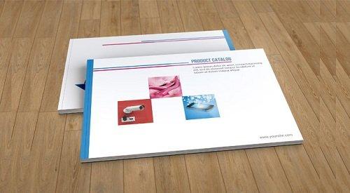tuyển tập mẫu catalogue PSD