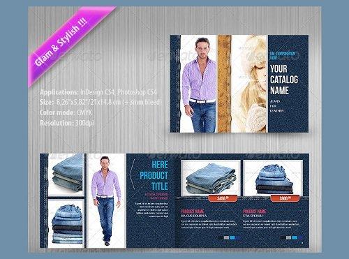 Mẫu catalogue shop quần áo