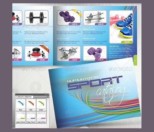 tổng hợp mẫu catalogue PSD miễn phí