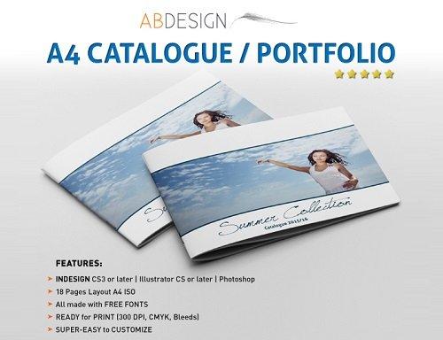 mẫu catalogue sáng tạo, độc đáo