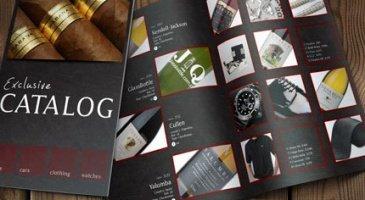 in catalogue tại xưởng